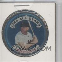 1964 Topps Coins - [Base] #131.1 - Mickey Mantle (3/4 view)