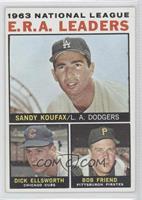 Sandy Koufax, Dick Ellsworth, Bob Friend