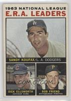 Sandy Koufax, Dick Ellsworth, Bob Friend