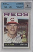 Pete Rose [BVG/JSA Certified Auto]