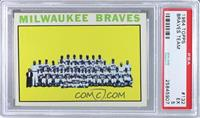 Milwaukee Braves Team [PSA 5]