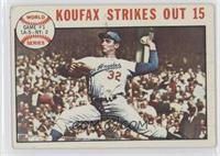 1963 World Series - Game #1: Koufax Strikes Out 15 (Sandy Koufax) [Good to…