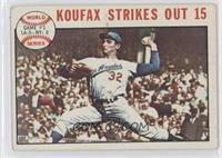 1963 World Series - Game #1: Koufax Strikes Out 15 (Sandy Koufax) [Goodto…