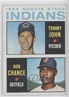 1964 Rookie Stars Indians (Tommy John, Bob Chance) [GoodtoVG‑…