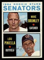 Mike Brumley, Lou Piniella [NM]