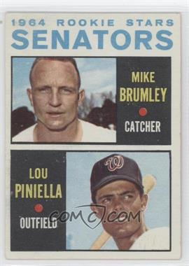 1964 Topps #167 - Mike Brumley, Lou Piniella