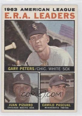 1964 Topps #2 - Juan Pizarro, Camilo Pascual, Gary Peters