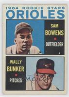 Sam Bowens, Wally Bunker