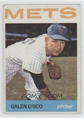 1964 Topps #202 - Galen Cisco [Good to VG‑EX]