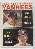 Jake Gibbs, Tom Metcalf