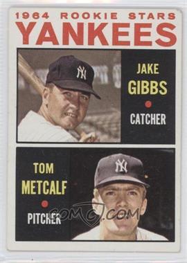 1964 Topps #281 - Jake Gibbs, Tom Metcalf