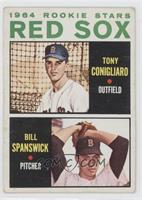 1964 Red Sox Rookie Stars (Tony Conigliaro, Bill Spanswick) [Good to …