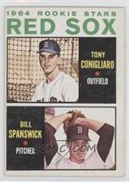 Red Sox Rookie Stars (Tony Conigliaro, Bill Spanswick) [GoodtoVG&#8…