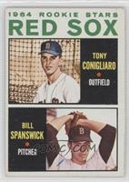 Red Sox Rookie Stars (Tony Conigliaro, Bill Spanswick)