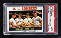 A.L. Bombers (Roger Maris, Norm Cash, Mickey Mantle, Al Kaline) [PSA7]