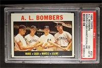 A.L. Bombers (Roger Maris, Norm Cash, Mickey Mantle, Al Kaline) [PSA6]
