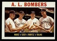 A.L. Bombers (Roger Maris, Norm Cash, Mickey Mantle, Al Kaline) [EX]