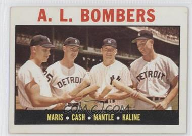1964 Topps #331 - A.L. Bombers (Roger Maris, Norm Cash, Mickey Mantle, Al Kaline)