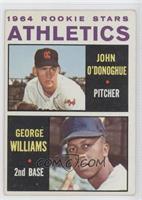 1964 Rookie All Stars Athletics (John O'Donoghue, George Williams)