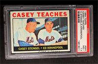 Casey Teaches (Casey Stengel, Ed Kranepool) [PSA7.5]