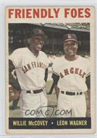 Friendly Foes (Willie McCovey, Leon Wagner) [Poor to Fair]
