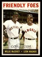 Friendly Foes (Willie McCovey, Leon Wagner) [NM]