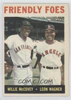 Friendly Foes (Willie McCovey, Leon Wagner)