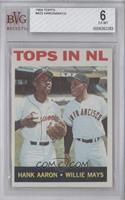 Tops in NL (Hank Aaron, Willie Mays) [BVG 6]