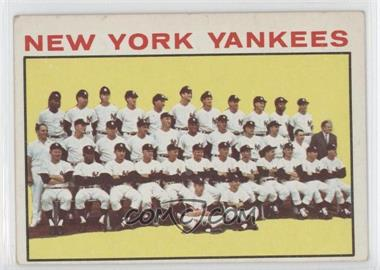 1964 Topps #433 - New York Yankees Team
