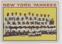 New York Yankees Team [Good to VG‑EX]