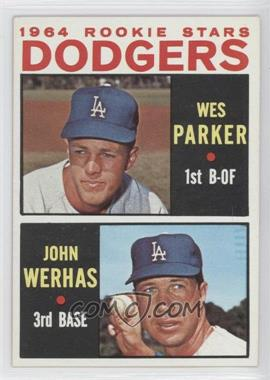 1964 Topps #456 - Wes Parker