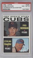 Fred Norman, Sterling Slaughter [PSA8]