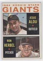 Jesus Alou, Ron Herbel [Good to VG‑EX]