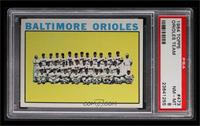 Baltimore Orioles Team [PSA 8]