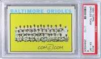 Baltimore Orioles Team [PSA 6]