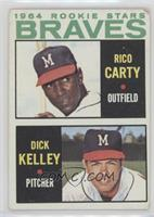1964 Rookie Stars (Rico Carty, Dick Kelley) [Poor]