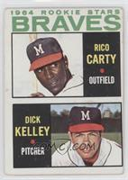 1964 Rookie Stars (Rico Carty, Dick Kelley) [GoodtoVG‑EX]