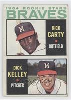 1964 Rookie Stars (Rico Carty, Dick Kelley) [Good to VG‑EX]