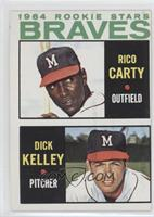 1964 Rookie Stars (Rico Carty, Dick Kelley)