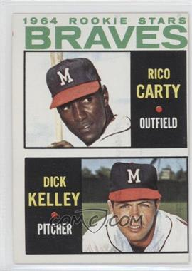 1964 Topps #476 - 1964 Rookie Stars (Rico Carty, Dick Kelley)