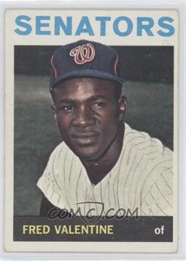 1964 Topps #483 - Fred Valentine