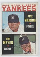 1964 Rookie Stars Yankees (Pete Mikkelsen, Bob Meyer) [Poor]