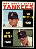 1964 Rookie Stars Yankees (Pete Mikkelsen, Bob Meyer) [NM]