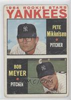 1964 Rookie Stars Yankees (Pete Mikkelsen, Bob Meyer) [PoortoFair]