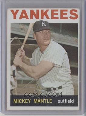 1964 Topps #50 - Mickey Mantle [Good to VG‑EX]