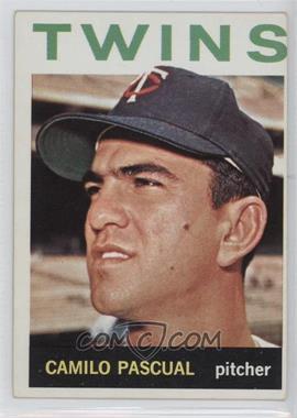 1964 Topps #500 - Camilo Pascual