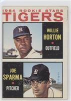 Willie Horton, Joe Sparma [GoodtoVG‑EX]