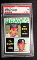 Phil Roof, Phil Niekro [PSA 7]