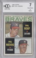 Phil Roof, Phil Niekro [ENCASED]