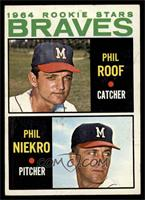 Phil Roof, Phil Niekro [EX]